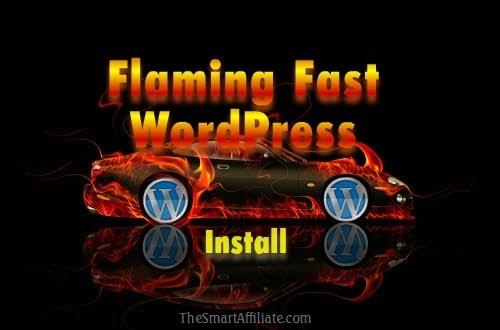 install wordpress fast